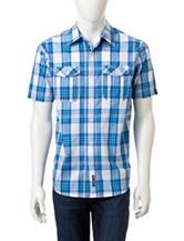 Southpole Plaid Woven Shirt