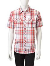Southpole Large Plaid Woven Shirt