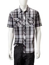 Southpole Multicolor Plaid Woven Shirt
