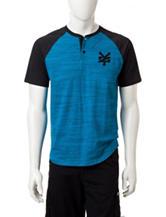 Zoo York Blue Grit Raglan T-shirt