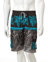 U.S. Polo Assn. Island Palm Swim Shorts