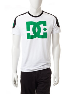 DC Shoes White Tees & Tanks