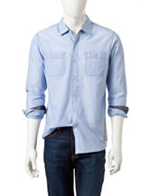 Signature Studio Chambray Patch Pocket Shirt