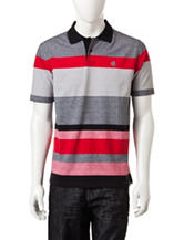 Southpole Multicolored Large Engineer Striped Polo Shirt