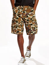 Levi's® Brown Camo Print Carrier Shorts