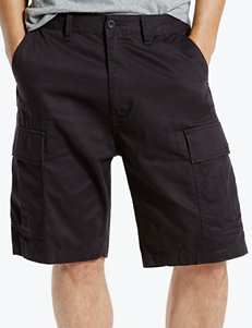 Levi's Solid Color Black Carrier Shorts