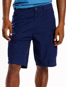 Levi's Solid Color Blue Carrier Shorts