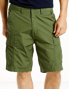 Levi's Solid Color Green Carrier Shorts