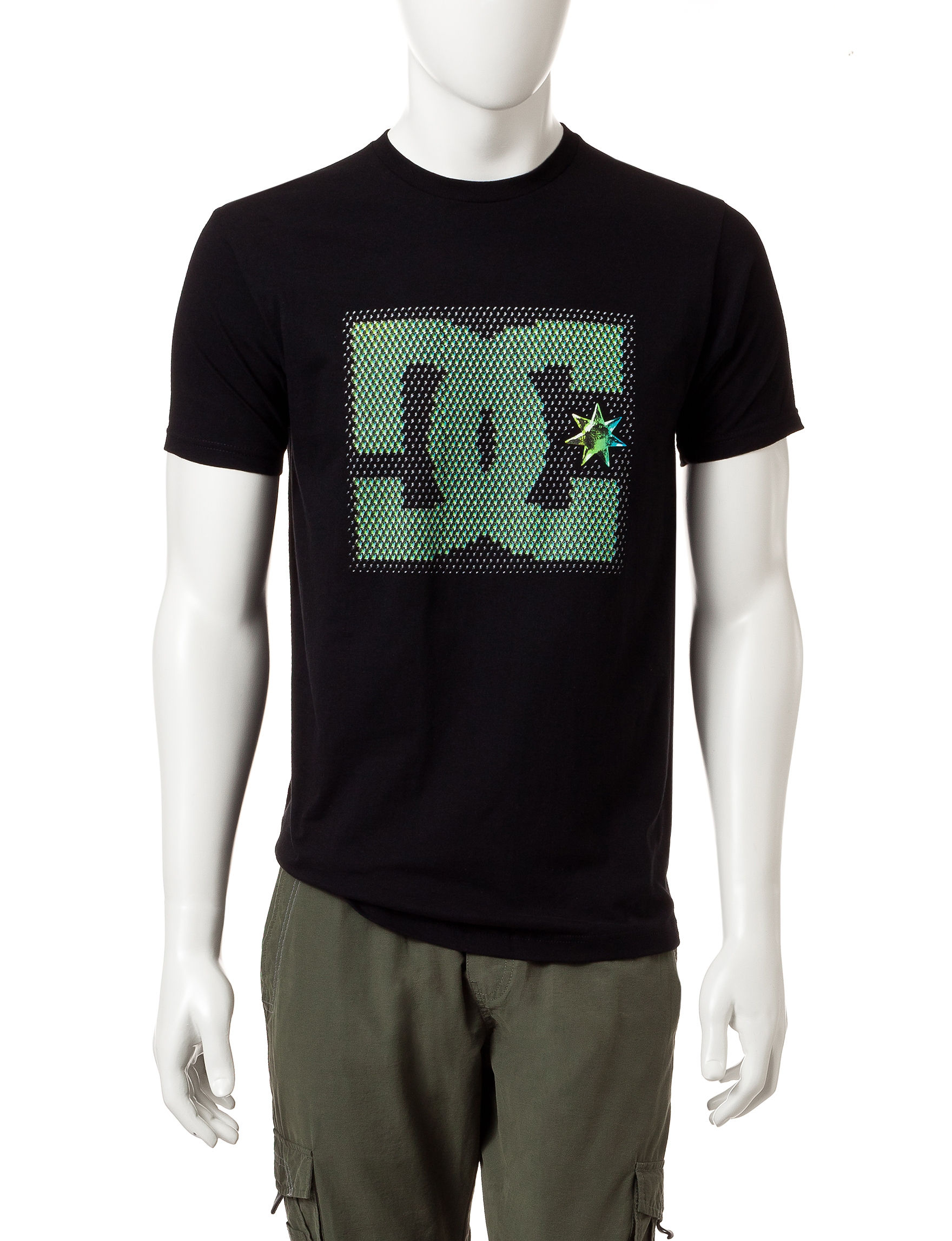 DC Shoes Black Tees & Tanks