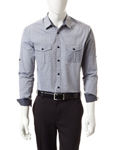 Axist Navy Casual Button Down Shirts