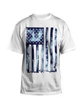 Hybrid Liquid Flag T-Shirt