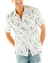 Point Zero Tropical Kitch Print Woven Shirt