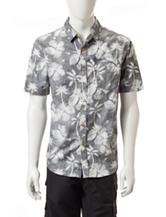 Point Zero Reverse Floral Print Woven Shirt
