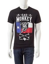Gas Monkey TX Flag T-shirt