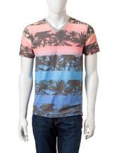 Ocean Current Sunset Tropical T-Shirt
