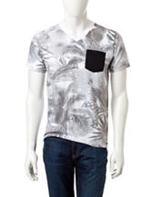 Ocean Current Sublimated Tropical Shirt