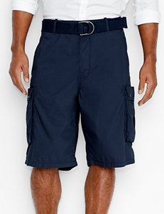 Levi's Solid Color Navy Snap Cargo Shorts