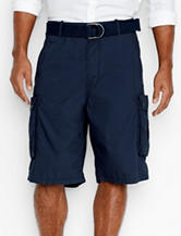 Levi's® Solid Color Navy Snap Cargo Shorts