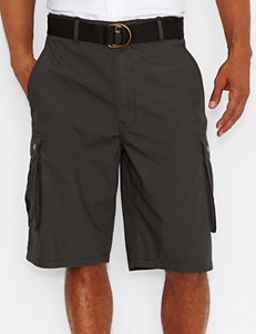 Levi's Solid Color Graphite Snap Cargo Shorts