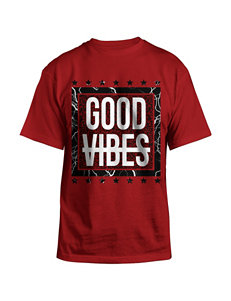 Hybrid Red Tees & Tanks