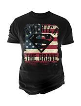 DC Comics Superman America The Brave T-shirt