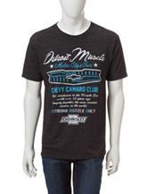 Chevy Camaro Club Charcoal Grey T-shirt