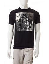 DC Shoes Black Titanic Foil T-shirt