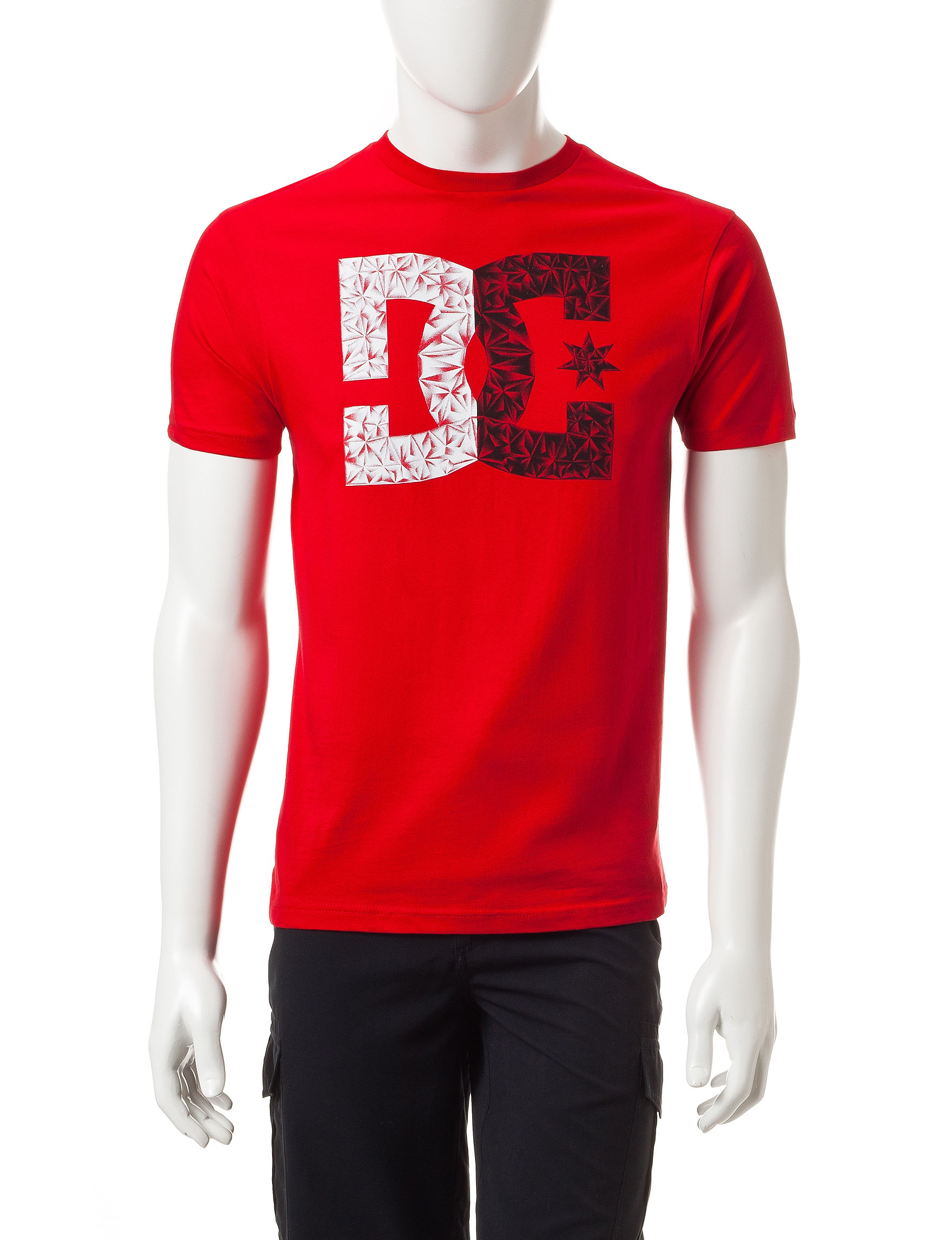 DC Shoes Red Tees & Tanks