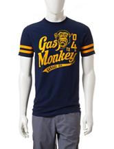 Gas Monkey Varsity Striped T-shirt