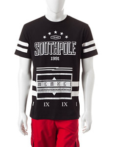 Southpole Black Tees & Tanks