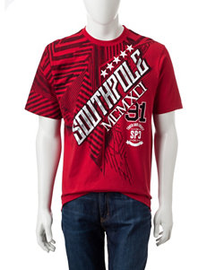 Southpole Red Logo T-shirt