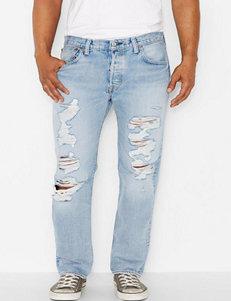 Levis 501 Light Wash Original Jeans