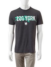 Zoo York Heather Grey Detention T-shirt