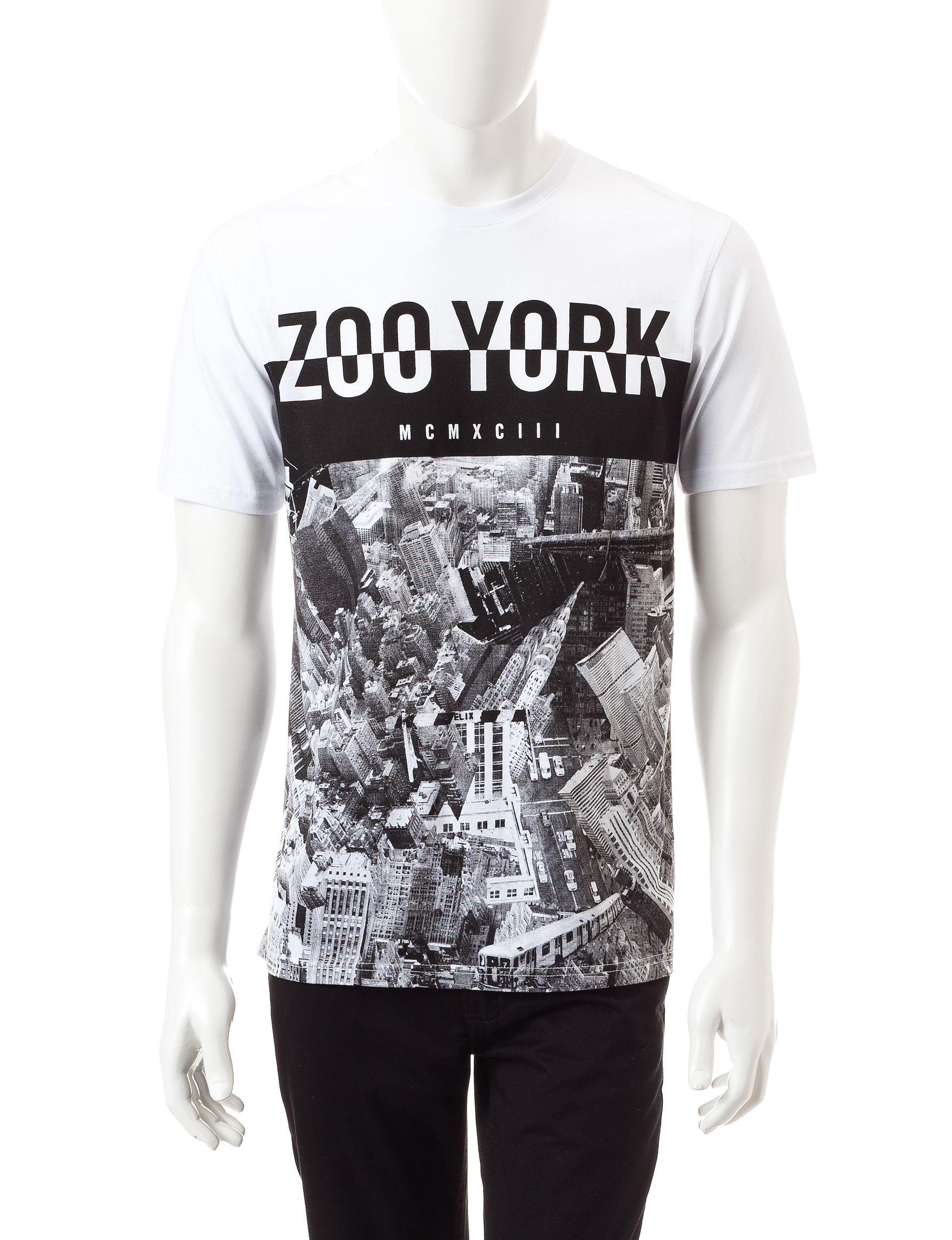 Zoo York White Tees & Tanks