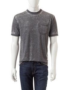 Rustic Blue Pocket Crew T-shirt