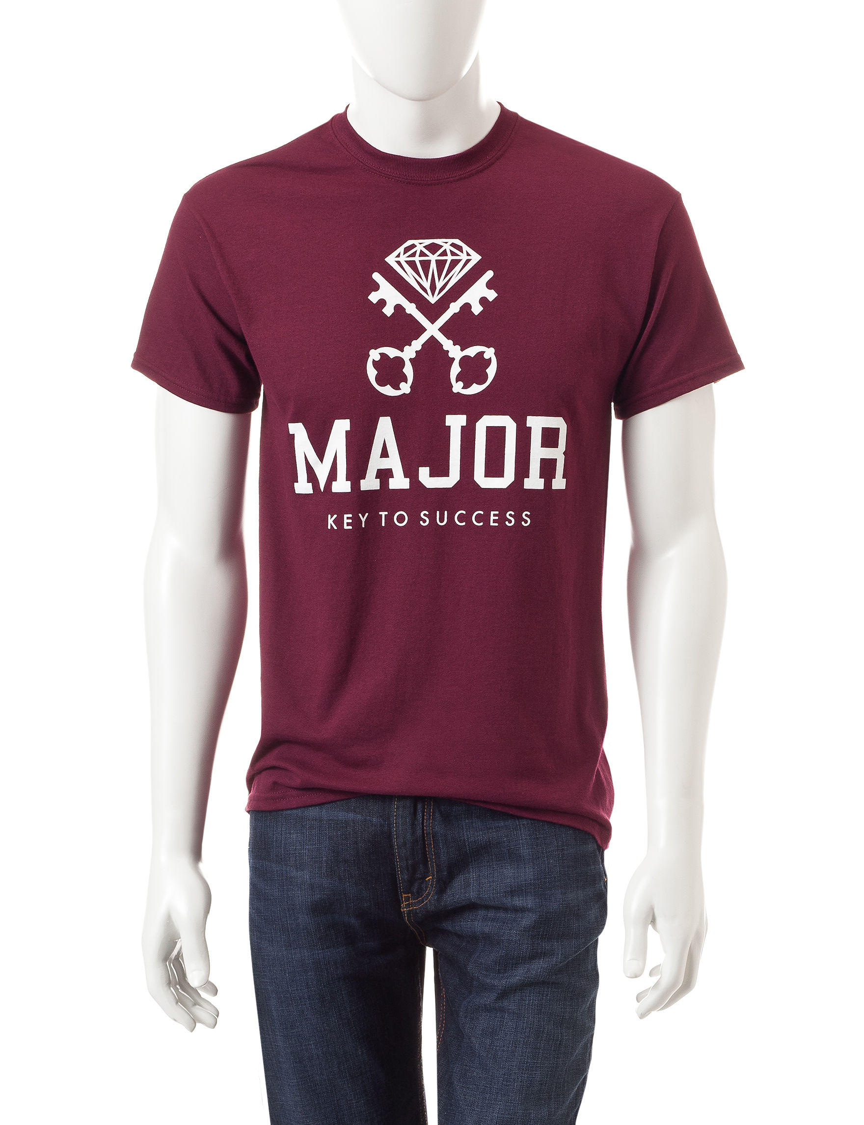 Popular Poison Burgundy Tees & Tanks