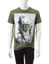 Popular Poison Olive Green Marilyn Monroe Diamond T-shirt