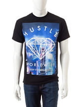 Popular Poison Hustle Worldwide Screen Print T-shirt