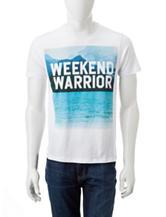 Ocean Current Weekend Warrior T-shirt