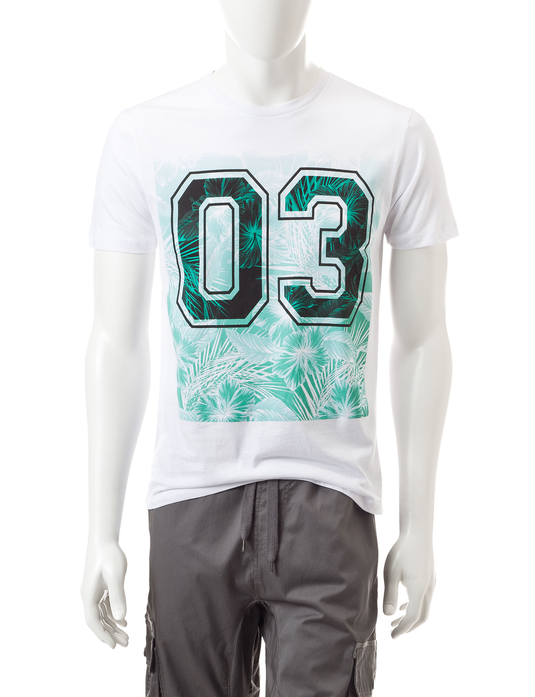 Ocean Current White Tees & Tanks