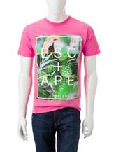 Ocean Current Tropical Escape T-shirt