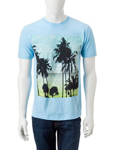 Ocean Current Blue Tees & Tanks