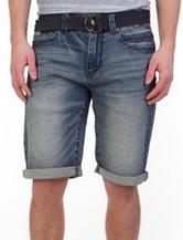 Unionbay® Wilder Medium Wash Stretch Shorts
