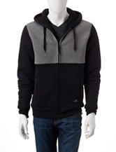 Marc Ecko Color Block Quilted Hoodie