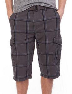 Unionbay® Kamren Plaid Print Messenger Cargo Shorts