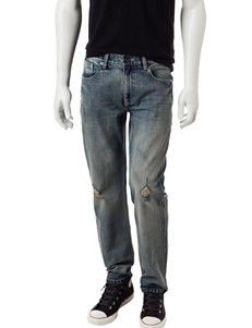 Rustic Blue Dewey Destruction Jeans