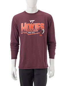 NCAA Maroon Tees & Tanks NCAA