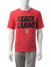 Louisiana-Lafayette Ragin Cajuns Touchback T-shirt