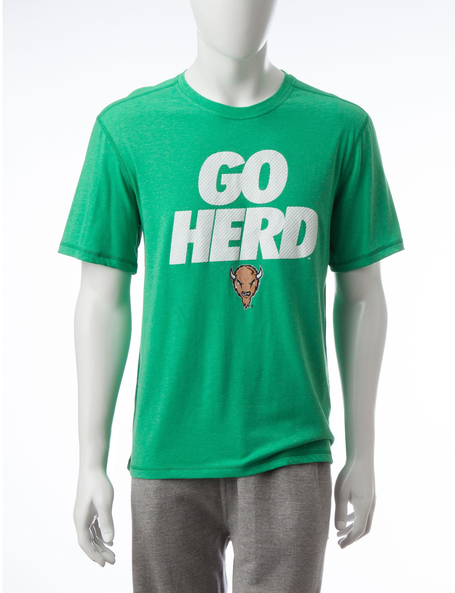 NCAA Green Tees & Tanks NCAA