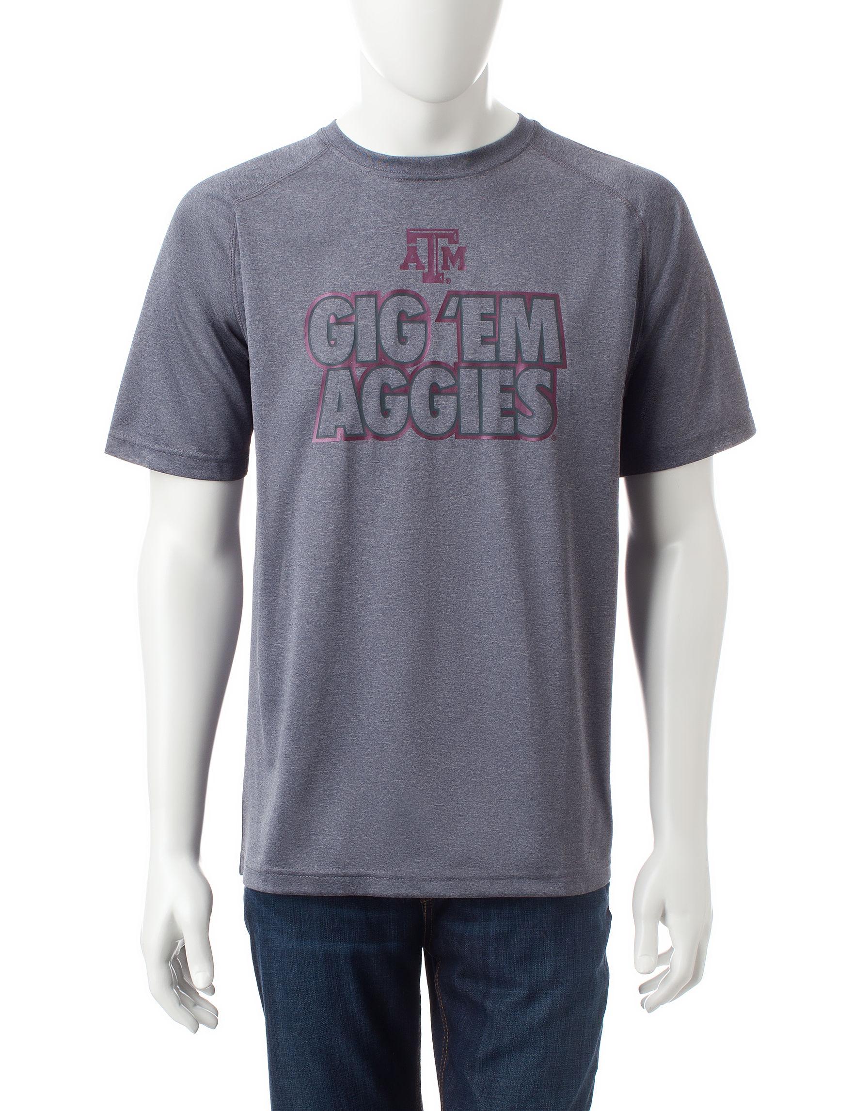 NCAA Grey Tees & Tanks NCAA